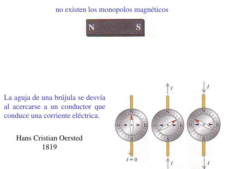no existen los monopolos magnéticos