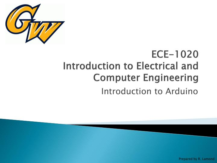 Ece 1020 introduction to electrical and computer engineering
