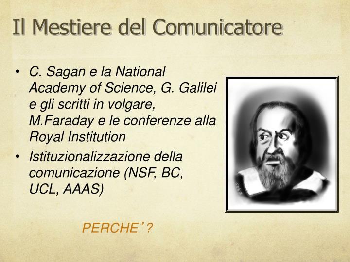 Il Mestiere del Comunicatore