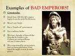 examples of bad emperors2