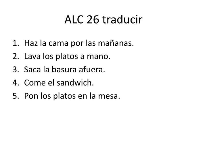 ALC 26