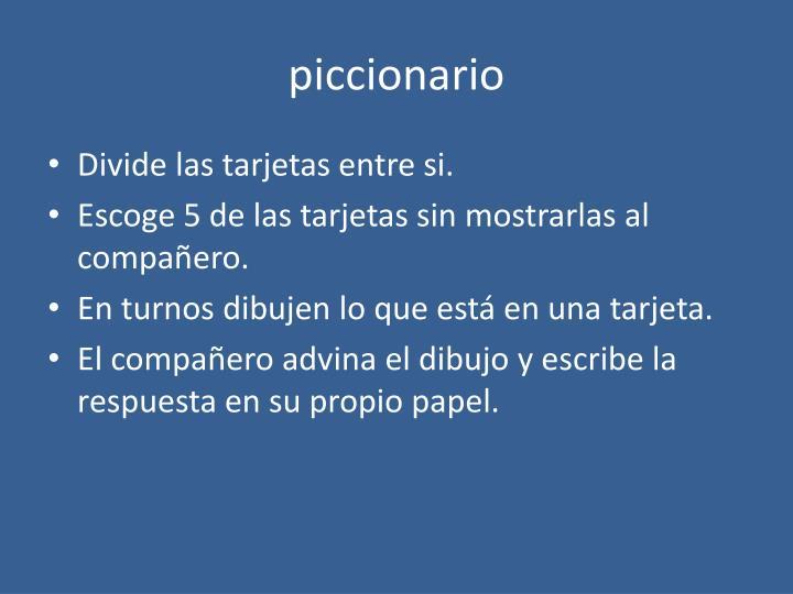 piccionario