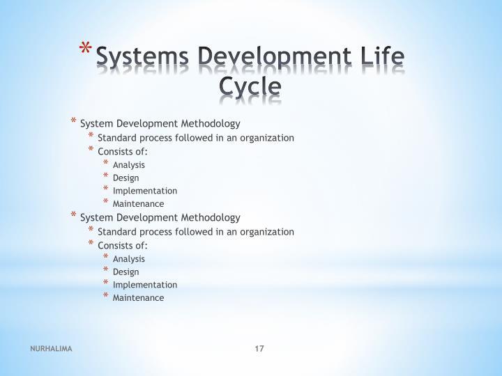 System Development Methodology