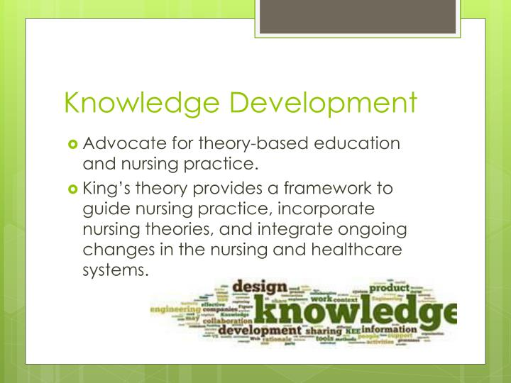 nurses as knowledge workers Patient care handoffs are critical to ensuring continuity of care and patient safety current definitions of handoffs focus on information, but preventing errors and improving quality require knowledge the objective of this study was to determine whether knowledge and wisdom were exchanged during .
