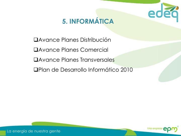 5. INFORMÁTICA