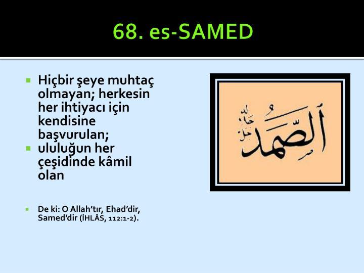 68. es-SAMED