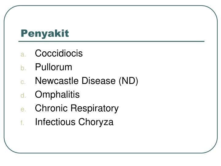 Penyakit