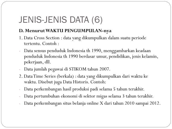 JENIS-JENIS DATA (6)