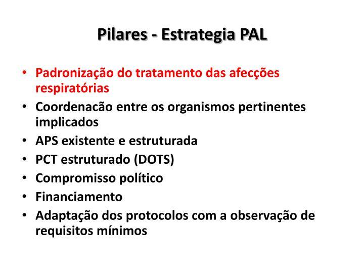 Pilares - Estrategia PAL