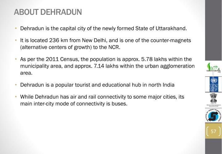 About Dehradun