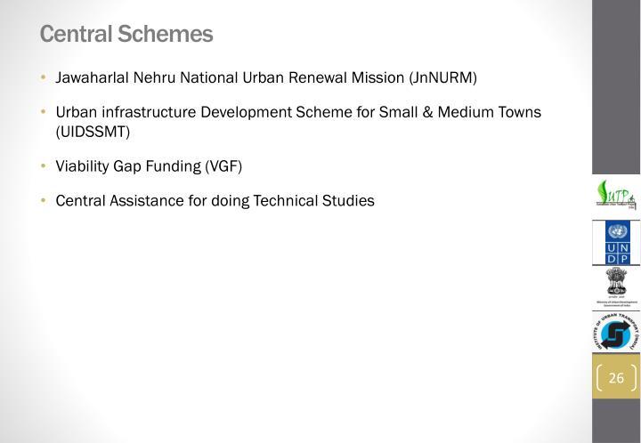 Central Schemes