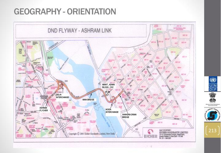 GEOGRAPHY - ORIENTATION