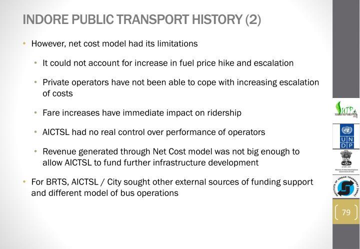 Indore Public Transport History (2)