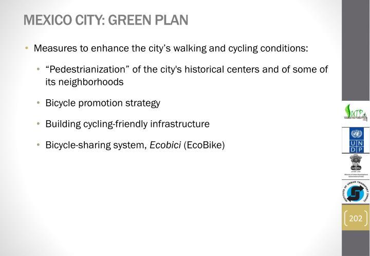 Mexico City: Green Plan
