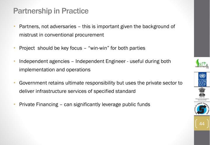 Partnership in Practice