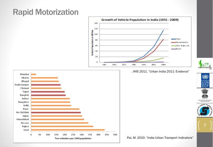 Rapid Motorization