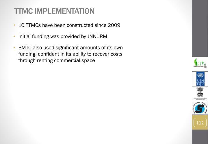 TTMC Implementation