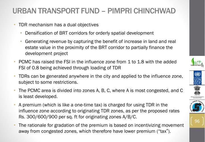 Urban Transport Fund –