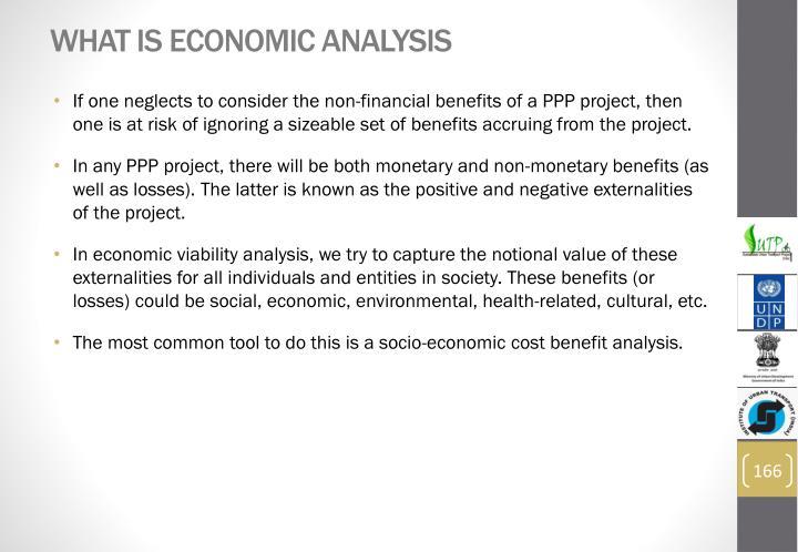 What is Economic Analysis