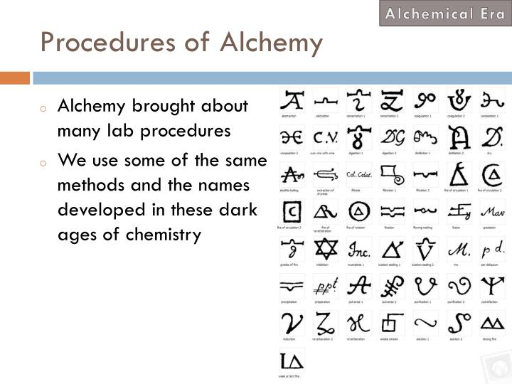 Alchemical Era
