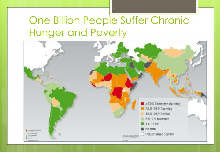 One Billion People Suffer Chronic Hunger and Poverty