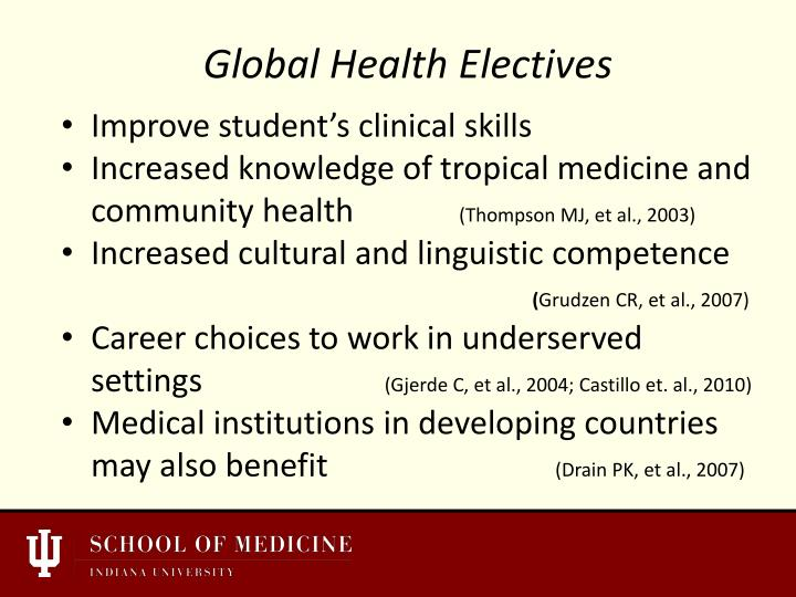 Improve student's clinical skills