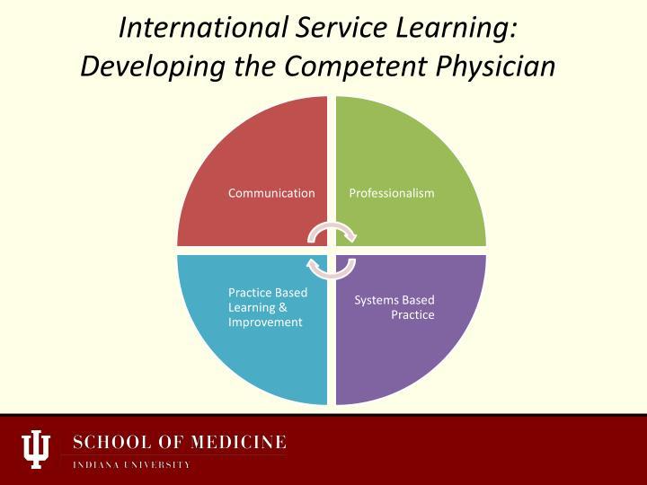 International Service Learning: