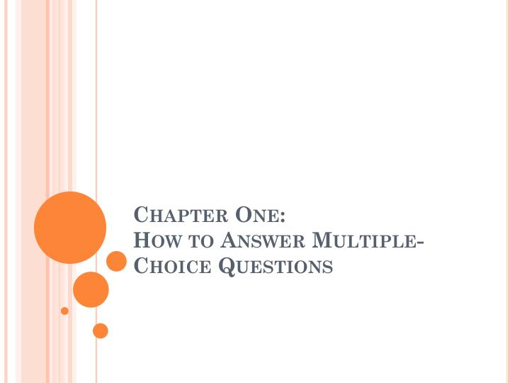 chapter 1multiple choice questions