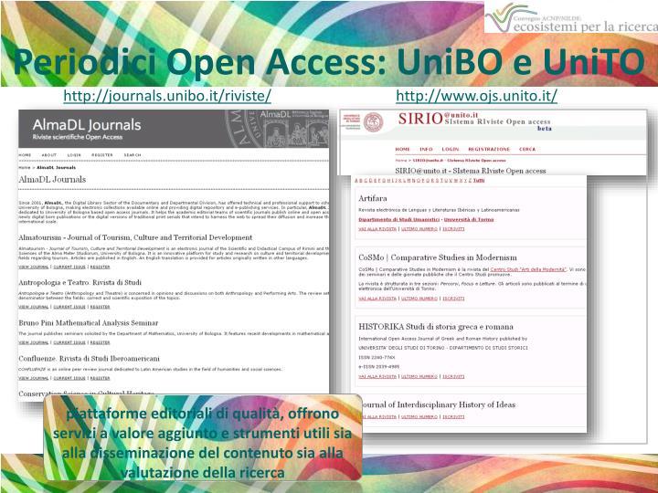 Periodici Open Access: