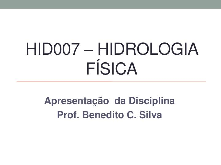 HID007 –