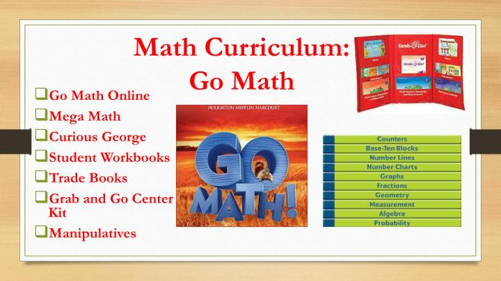 Math Curriculum:
