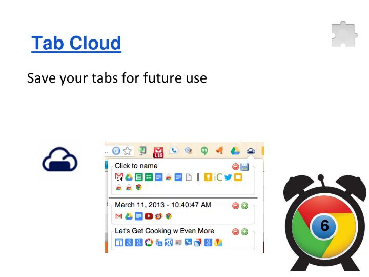 Tab Cloud