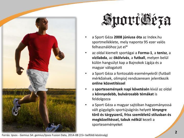 a Sport Géza