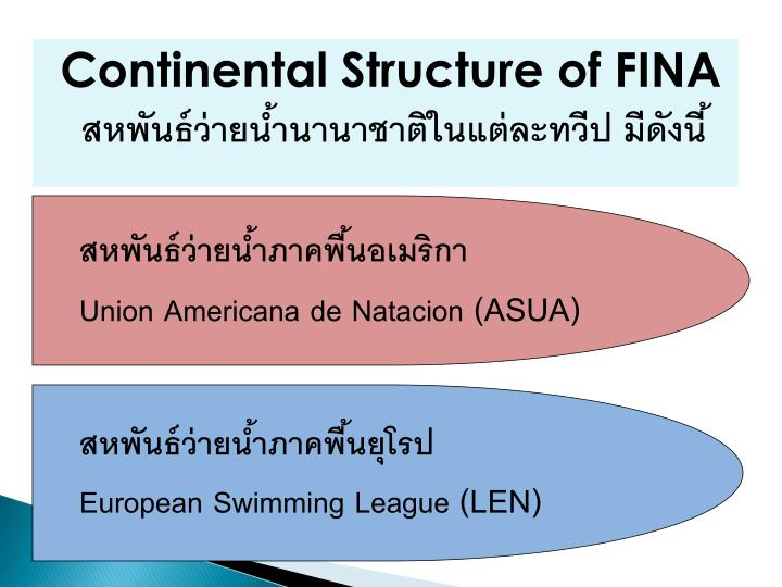 Continental Structure of FINA