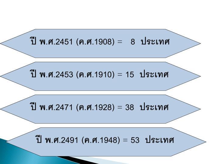 ปี พ.ศ.2451 (ค.ศ.1908)
