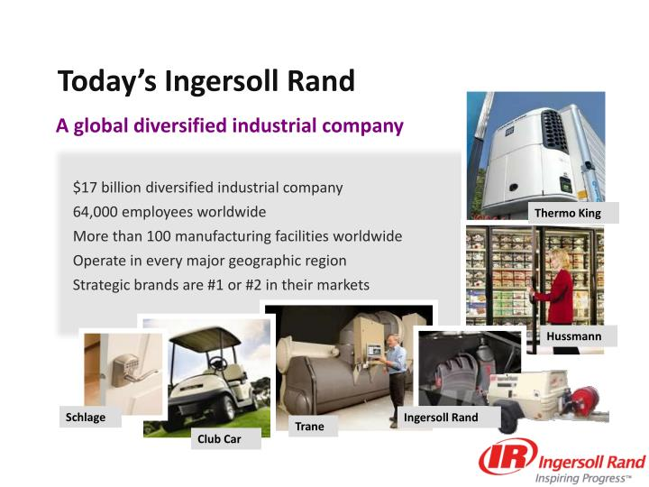 Today's Ingersoll Rand
