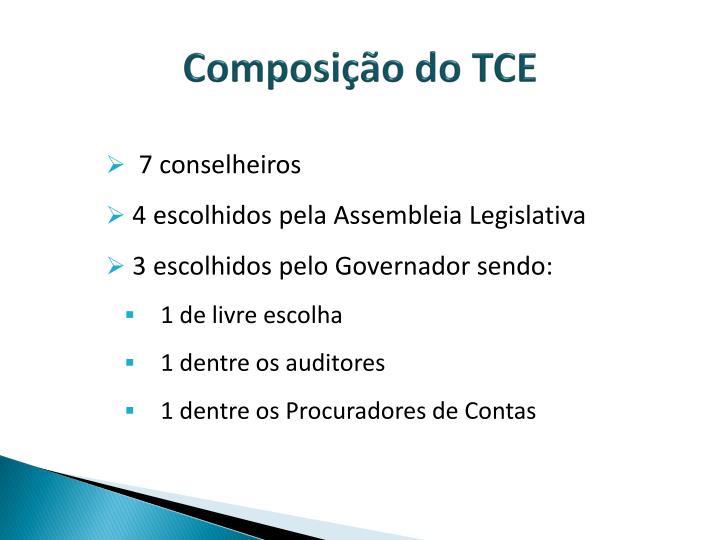 Composição do TCE