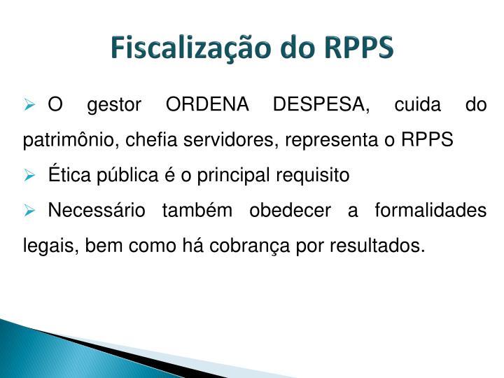 Fiscalização do RPPS