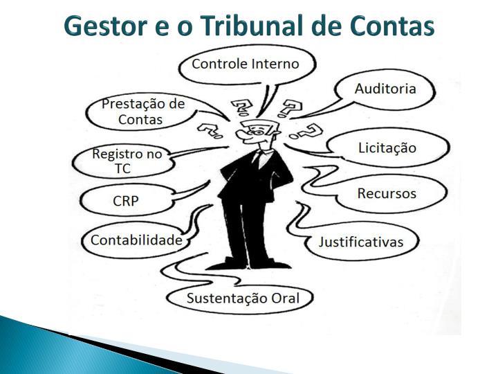 Gestor e o Tribunal de Contas