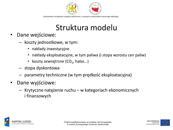 Struktura modelu