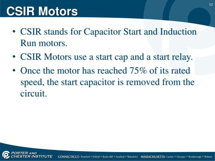 CSIR Motors