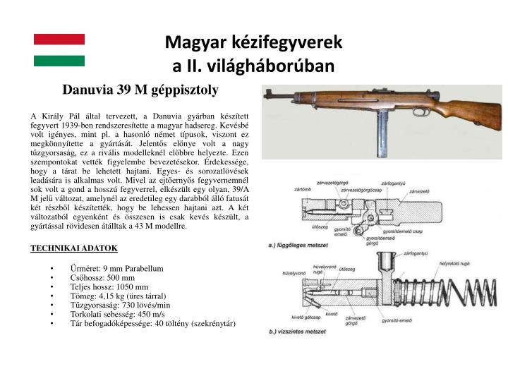 Magyar kézifegyverek