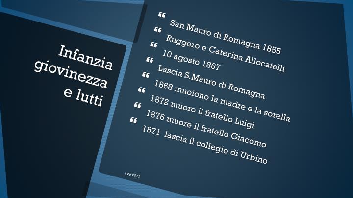 San Mauro di Romagna 1855