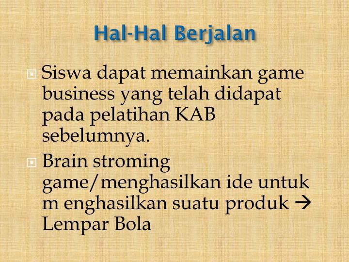 Hal-Hal