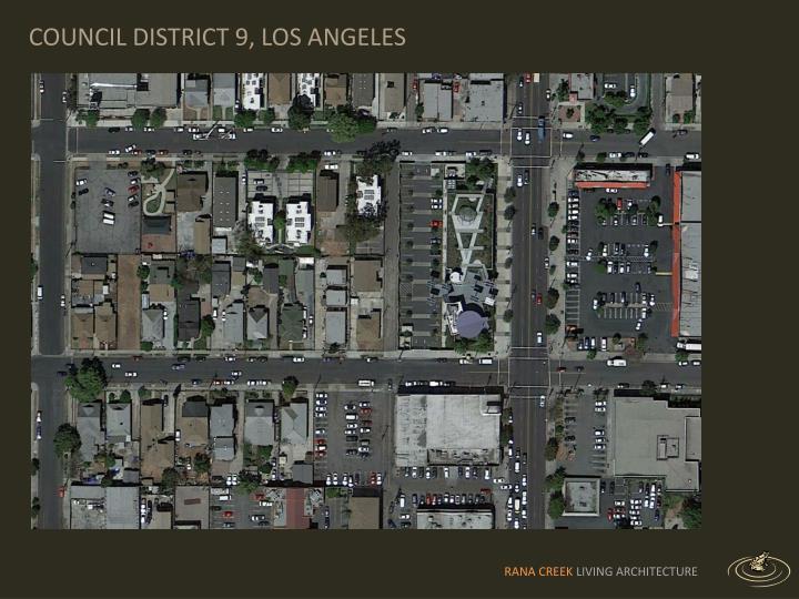 COUNCIL DISTRICT 9, LOS ANGELES