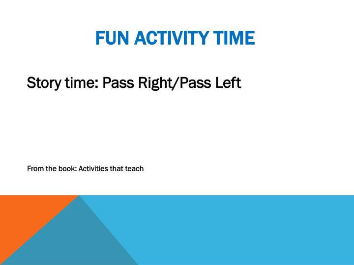 Fun Activity Time