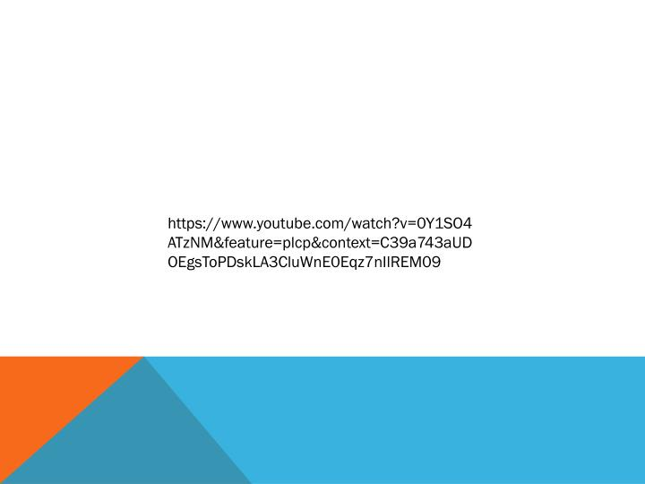 https://www.youtube.com/watch?v=0Y1SO4ATzNM&feature=plcp&context=C39a743aUDOEgsToPDskLA3CluWnE0Eqz7nIlREM09