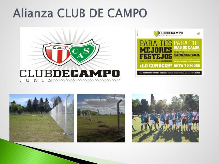 Alianza CLUB DE CAMPO