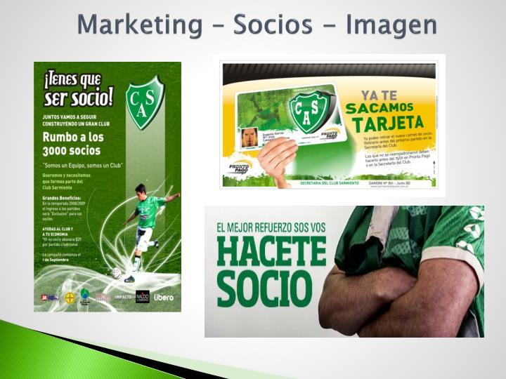 Marketing – Socios - Imagen