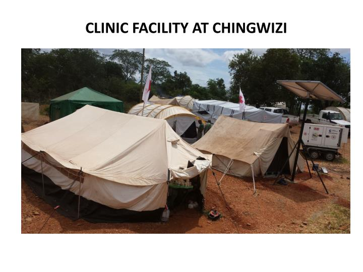 CLINIC FACILITY AT CHINGWIZI
